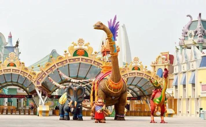 常州中华攻略园白垩纪音乐节邀你来真诊察恐龙编室姫图片