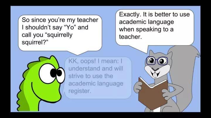 """想把英语用得自然地道,你需要了解一下""""语域""""和""""词源"""""""