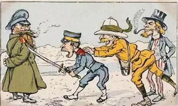 甲午战争后,俄德法三国为何联合干涉逼迫日本漫画图临摹图片