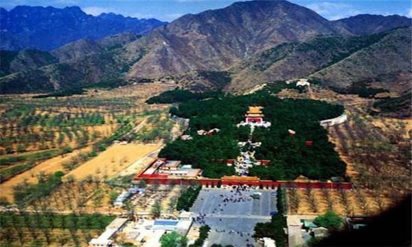 明十三陵每个陵后面的山名鲜为人知的故事,茂陵和康陵的最有趣!