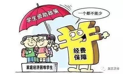 启东市家庭经济困难学生资助标准