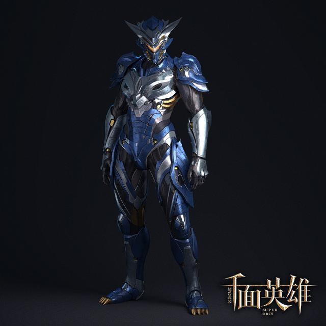 游戩�\�N�_超兽武装:龙戬真人版机甲形象,龙戬也是中年发福了