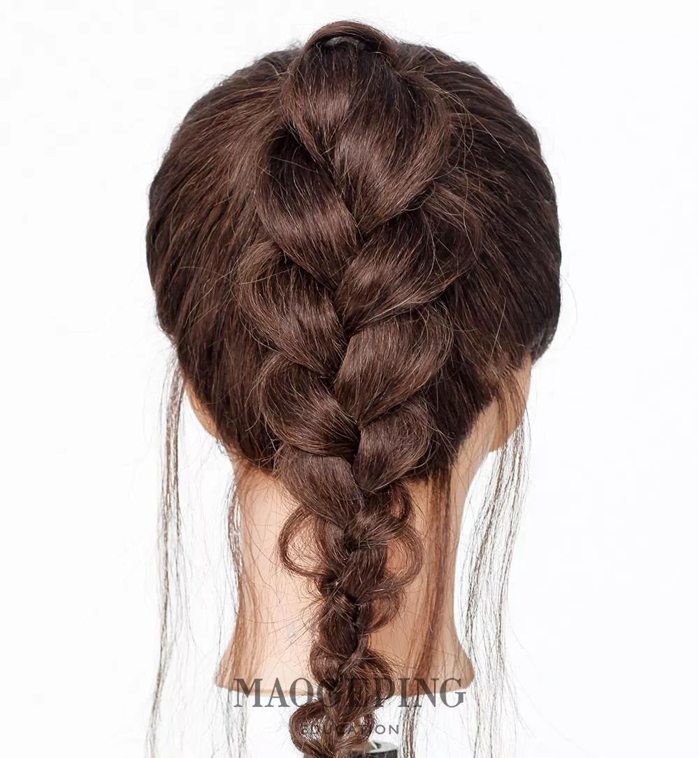 100种漂亮发型编法