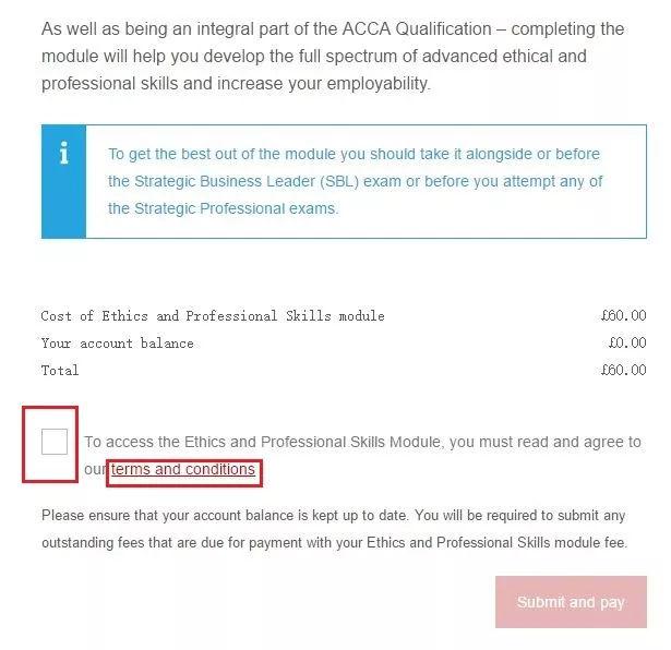 Acca ethics module unit 7 answers