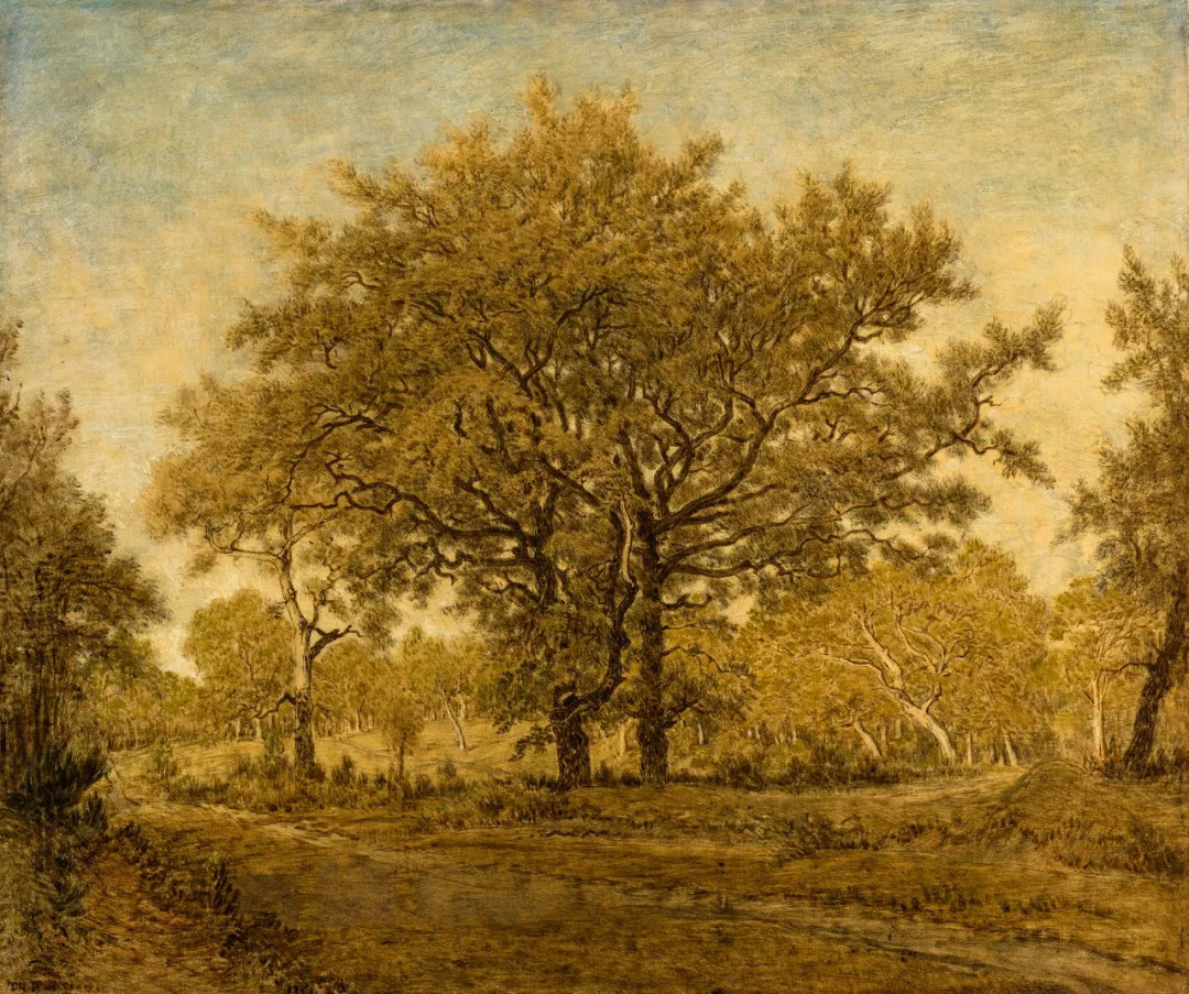 风景画作为具有创新风格的载体,发展成为西方绘画的重要艺术流派.