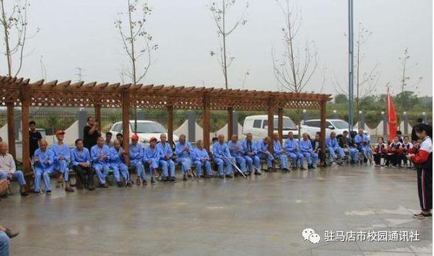彰显敬老美德:泌阳县一中志愿服务队走进县托养中心
