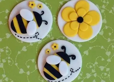 蜜蜂手工制作图片橡皮泥