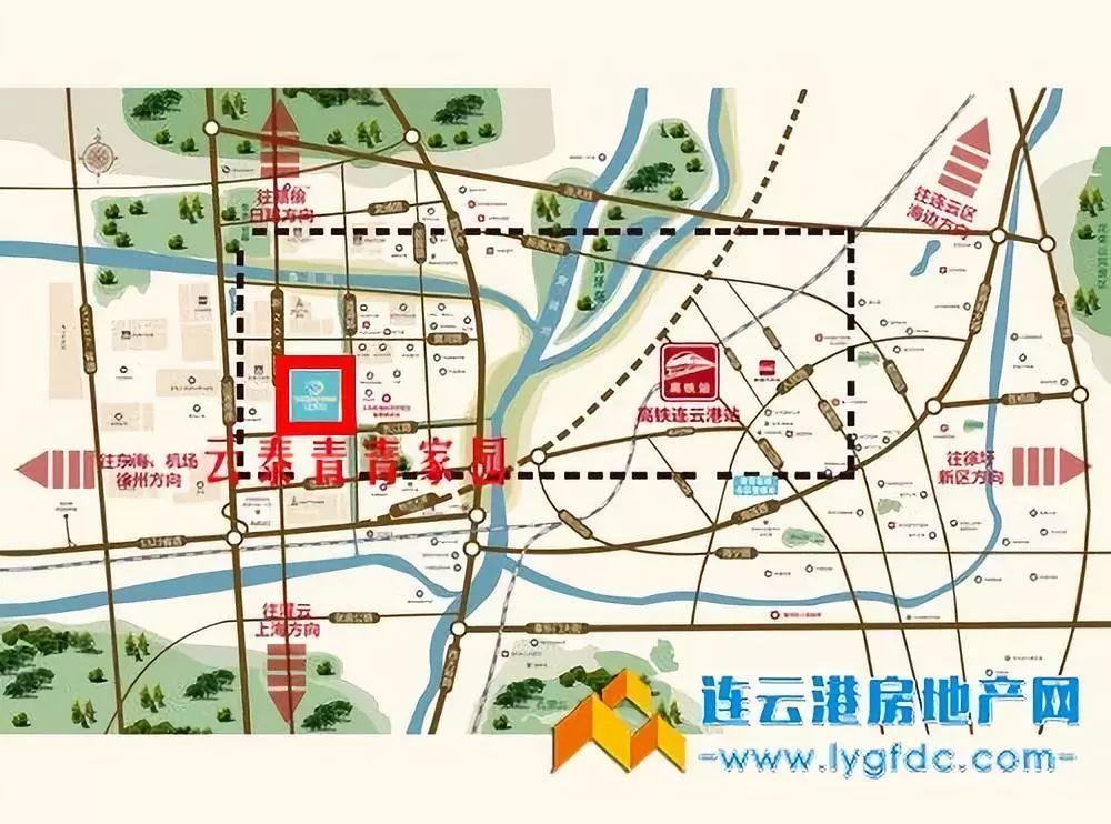 路青青_云泰青青家园区位图 均价:7000元/平方(精装),6000元/平方(毛坯) 总