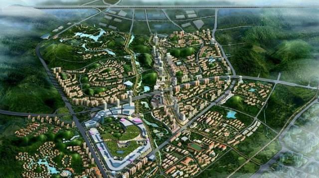 镇海新城北区规划图