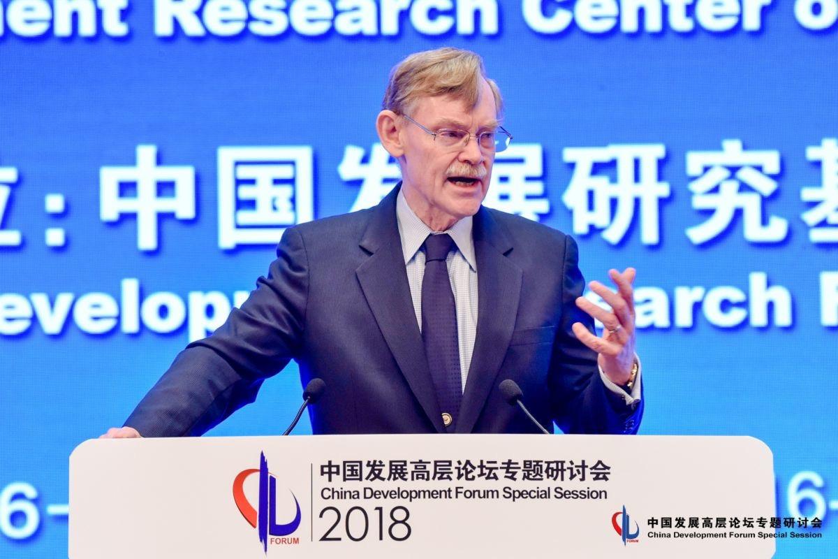世界银行前行长佐利克:中国债务尤其是央企债务在持续增长