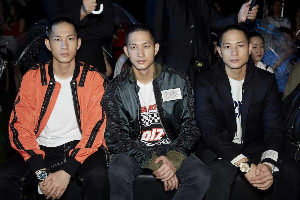 王俊凯qq号本人_luu brothers受品牌邀请上海看秀 潮酷look彰显时尚态度_邀现