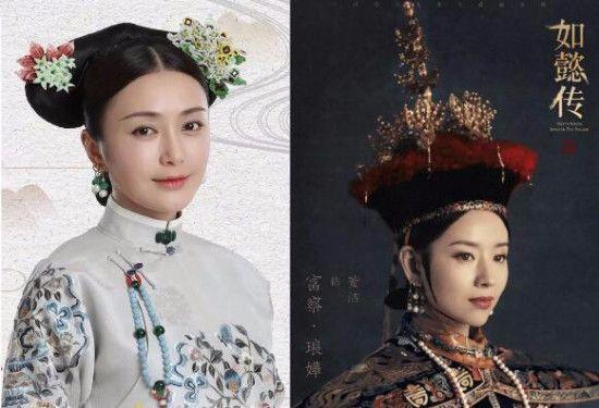 两任富察皇后同框,比董洁小一岁的秦岚看着好年轻