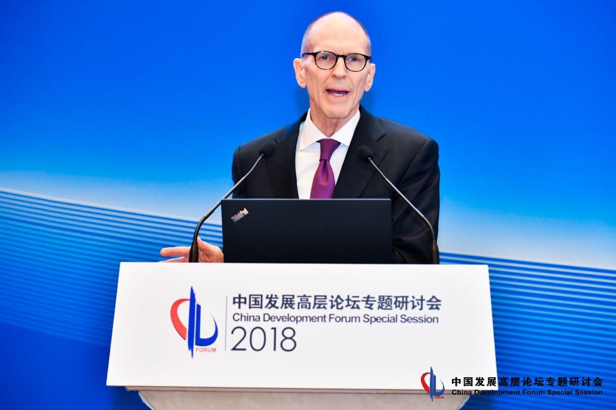 美国中国商会主席蔡瑞德:成员企业反对关税报复,支持双方谈判沟通