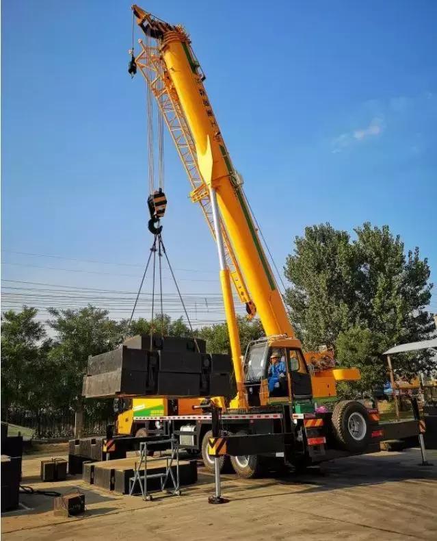 千锤百炼——森源新款25吨吊车3000多次检测,铸就匠心图片