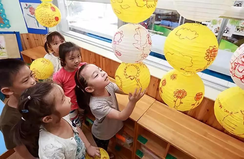 玉兔,月饼等,既美观大方,又能使孩子更好地消除分离焦虑,爱上幼儿园图片