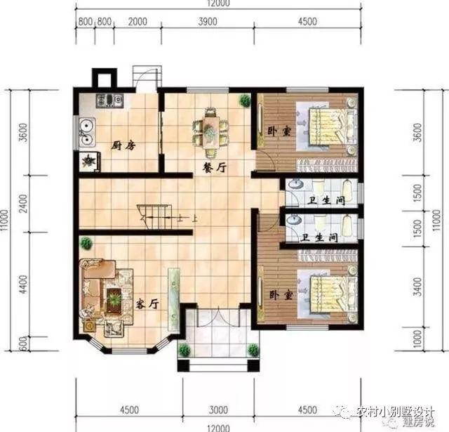 11米12米房屋设计图