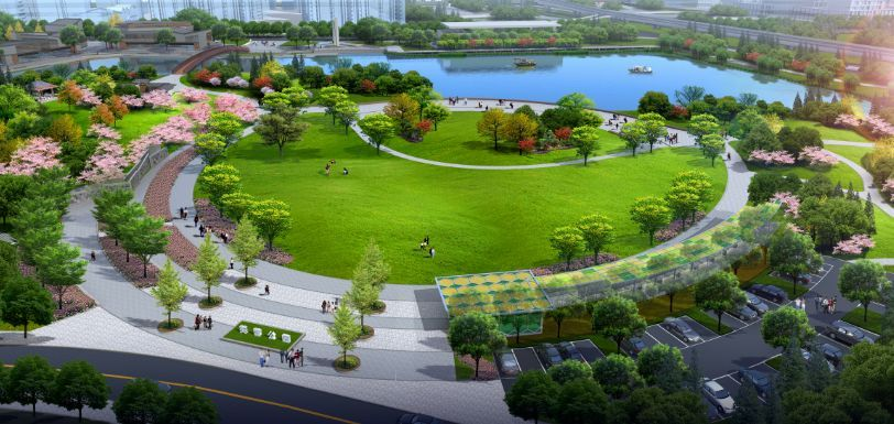 常德白马湖公园_常德即将呈现一座最大城市公园,相当于白马湖+滨湖公园+丁玲