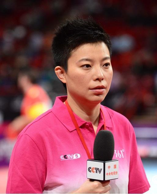 中央电视台CCTV5体育频道乒乓球主播-杨影的快乐人生