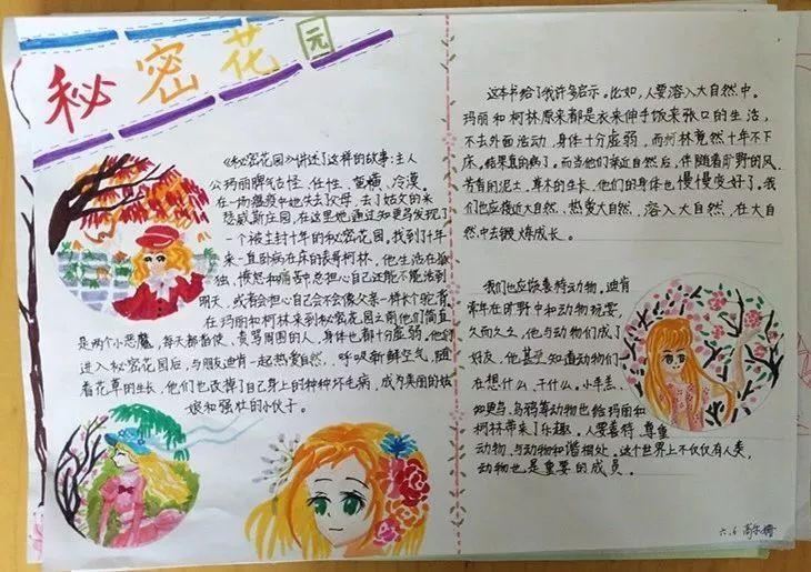 以图画,导图,表格,文字等各种各样的形式展现出暑期的实践与学习内容
