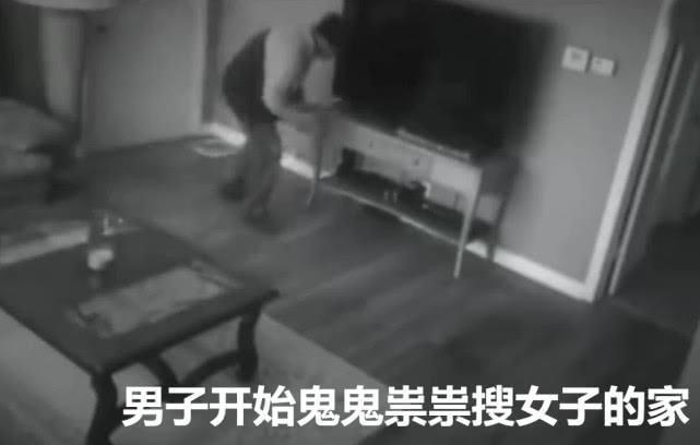 女子半夜发现客厅有怪声,走出一看吓得撒腿就跑,结局让人太解气