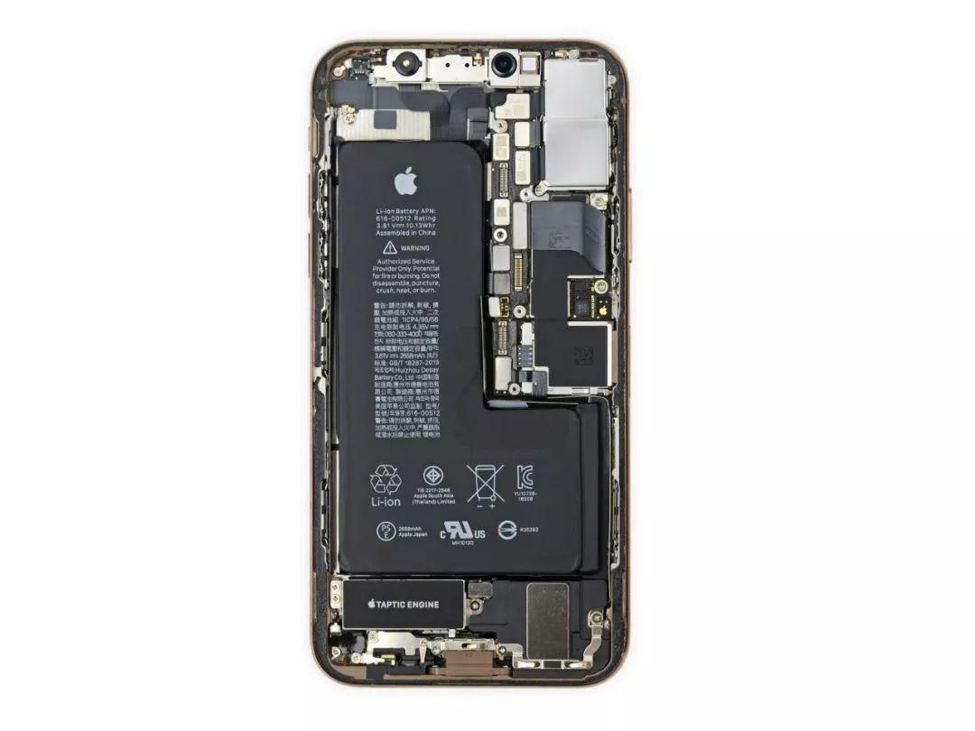 三星手机电池膨胀_iPhone XS 完全拆解,苹果藏了这些秘密_ iPhone XS