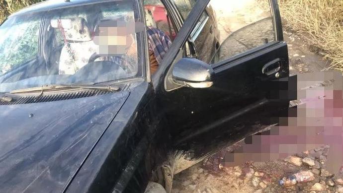 六旬夫妻半夜开轿车偷玉米,拉扯中被镰刀刺亡,网友:这是图啥?
