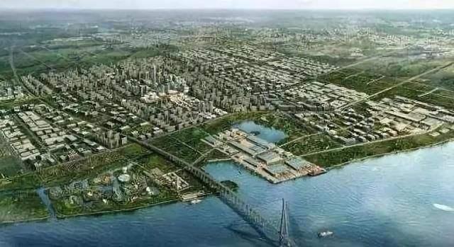 苏通工业园区规划图