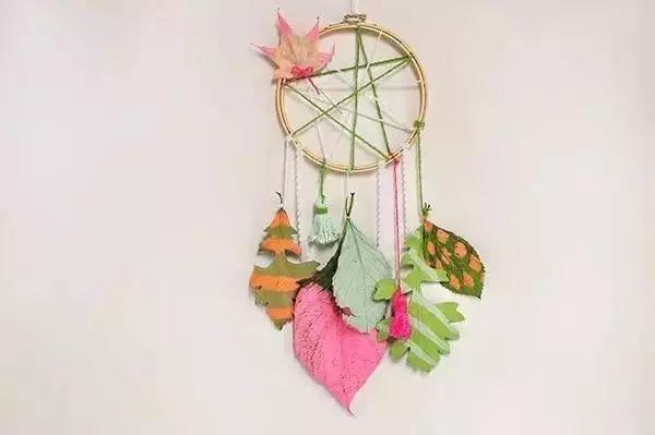 N款幼儿园秋季树叶创手工 环创,美爆了