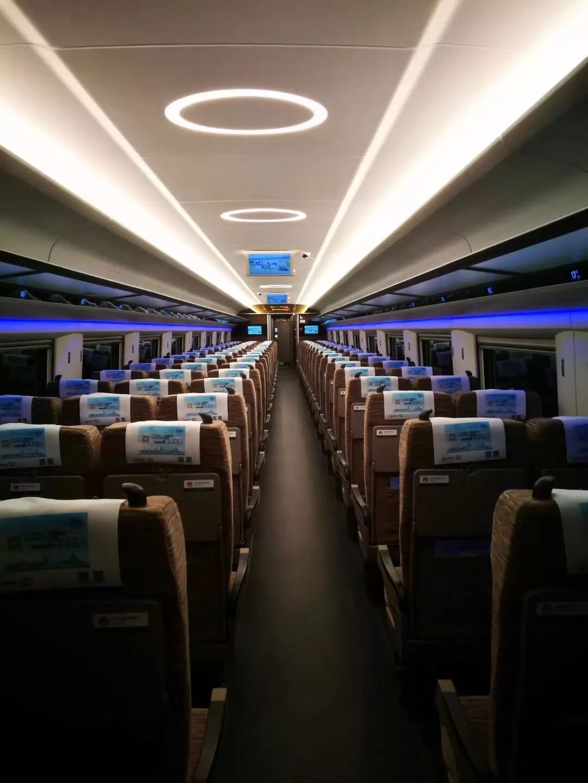 次列车每天开行一班,于每天上午9点19分从昆明南火车站开出,全程1472