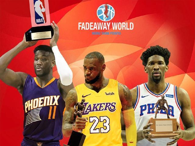 网友投票,下赛季MVP、最佳新秀等奖项出炉,是你心中的榜单吗