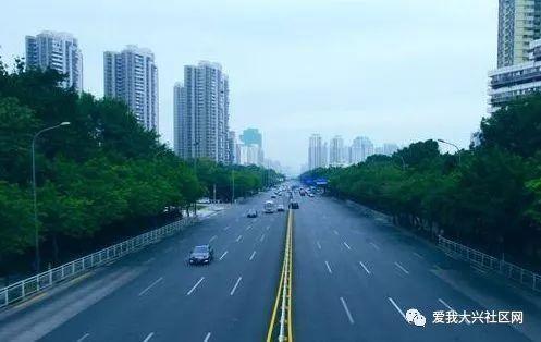 西安大兴区道路规划图