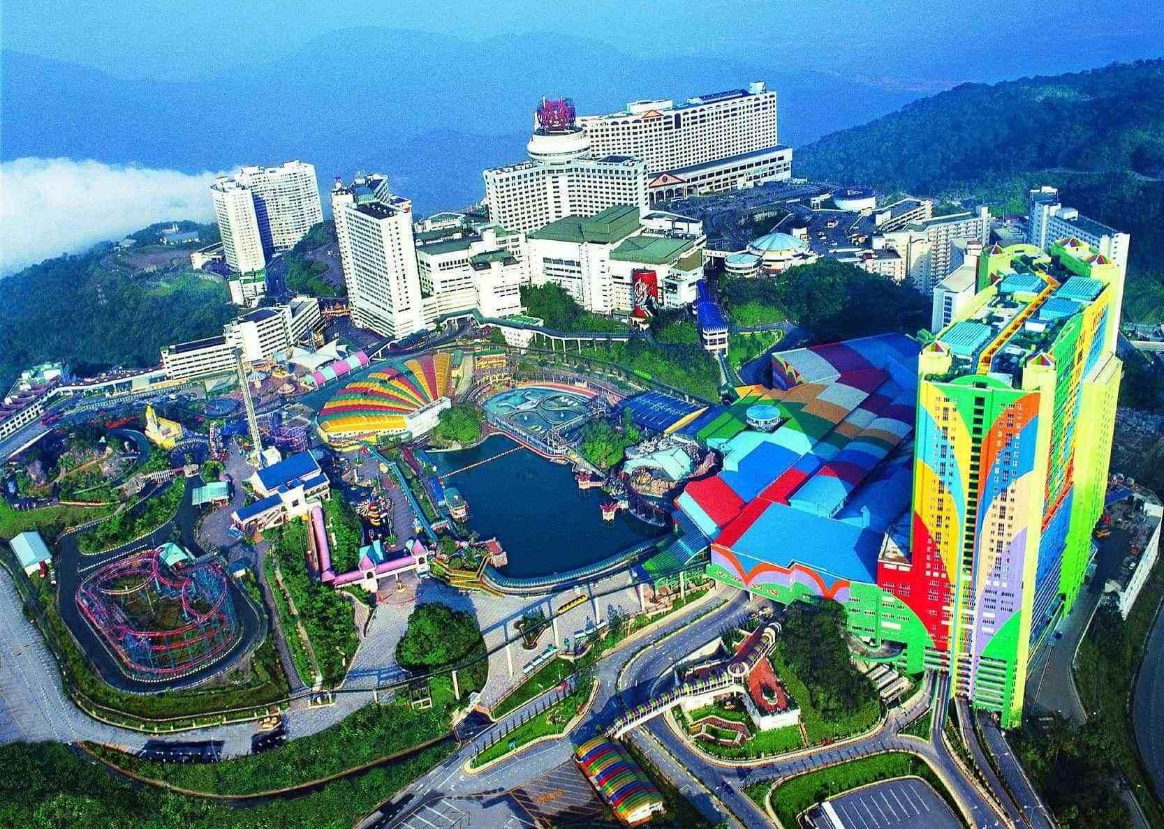 世界最大的酒店竟有7000多间房,这里还有马来西亚唯一合法的赌场