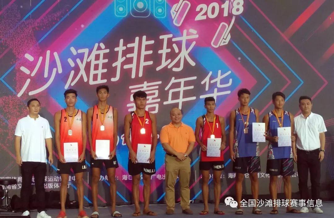 2018年国家级沙滩排球裁判员晋级培训班暨全国青年U21沙滩排球锦