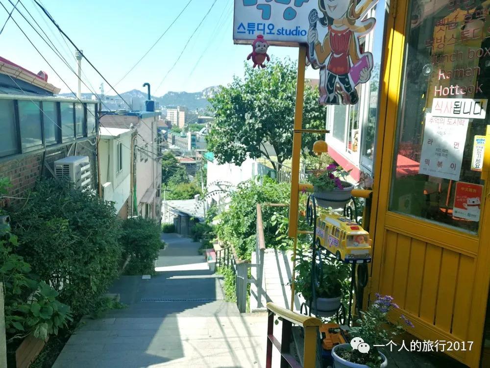 首尔的梨花洞壁画村,是一种怎样的美
