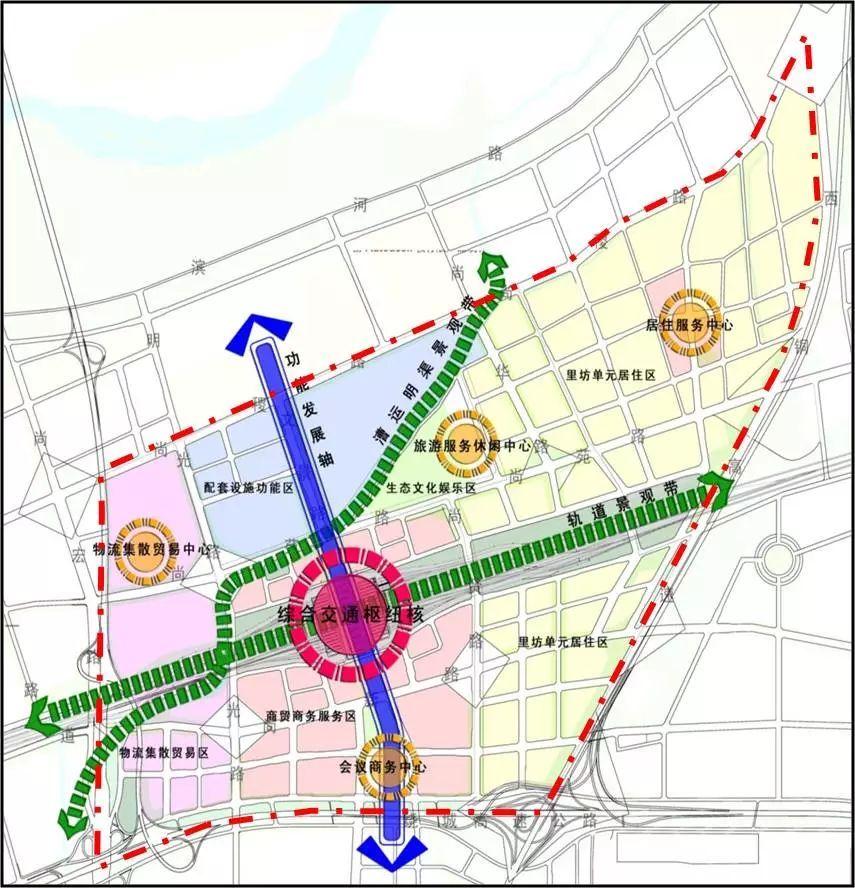 重磅消息 西安经开区正式接管高铁新城片区 最新规划公布