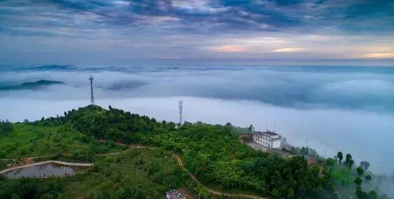 △龙泉山城市森林公园实景图图片
