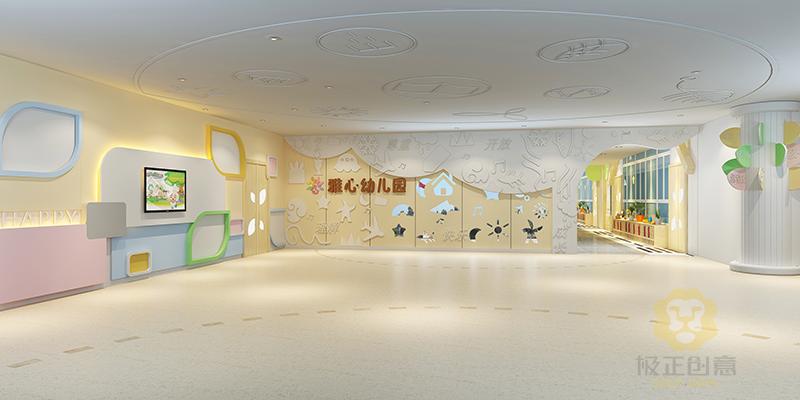 幼儿园教室墙面设计需要注意事项-极正创意图片