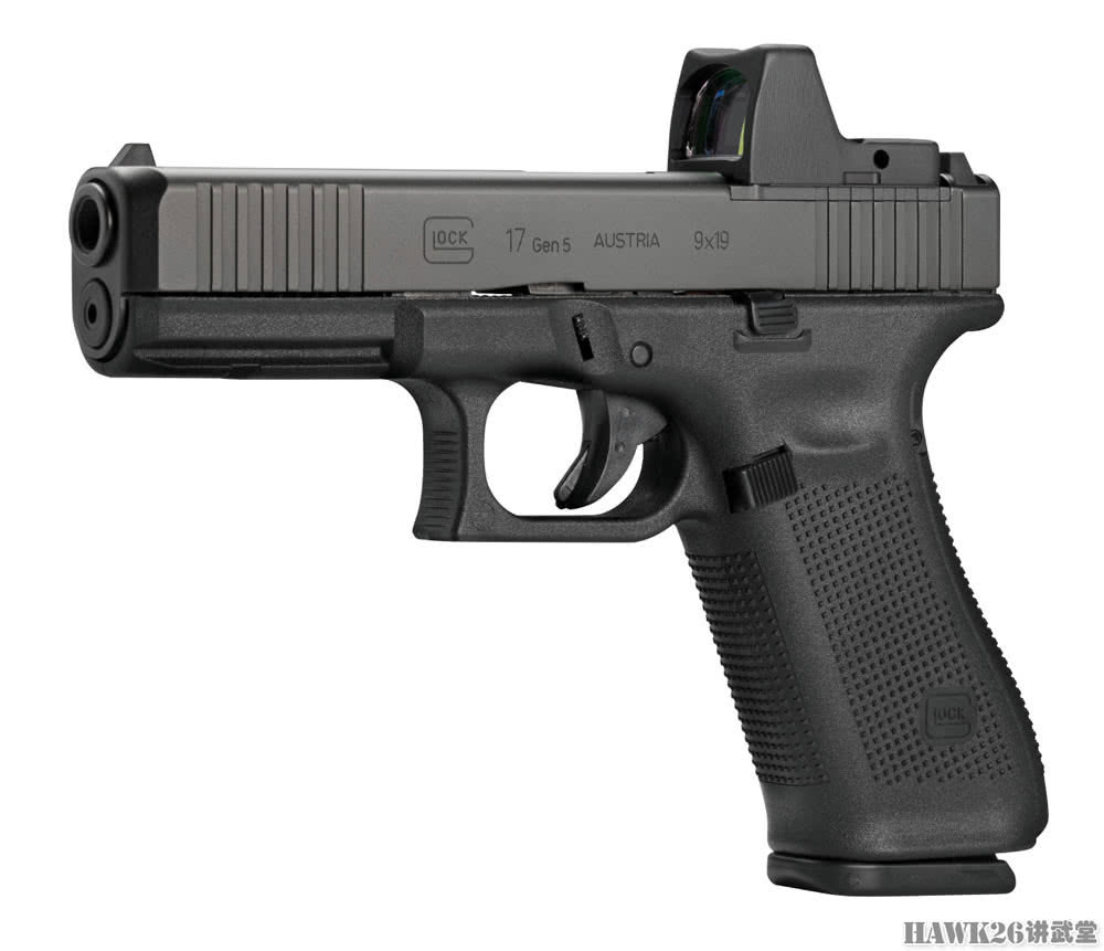 格洛克mos系列三款手枪升级 与最新型格洛克45看齐
