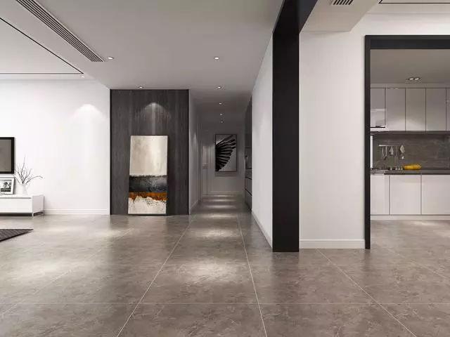 180平极简风格,26万打造极致黑白灰空间,宽敞的很,真耐看