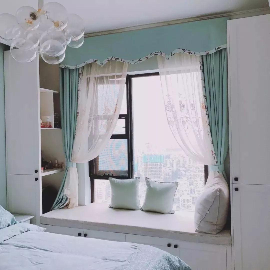 家里有个好看实用的飘窗,每天起床都有好心情