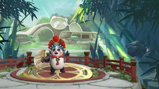 王者榮耀:夢奇熊貓皮膚定位傳說,將在9月30日正式上架!