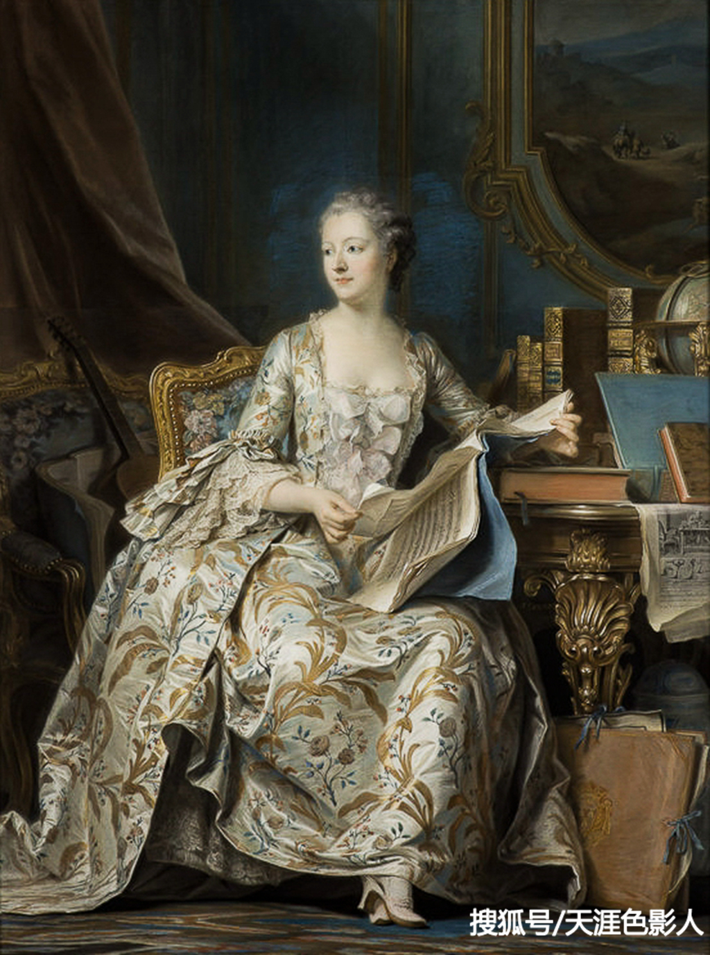 法国卢浮宫镇馆之宝中的七幅著名画作赏析