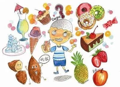 健康 正文  糖摄入过多容易增加龋齿,饮食质量不佳,慢性疾病风险或图片