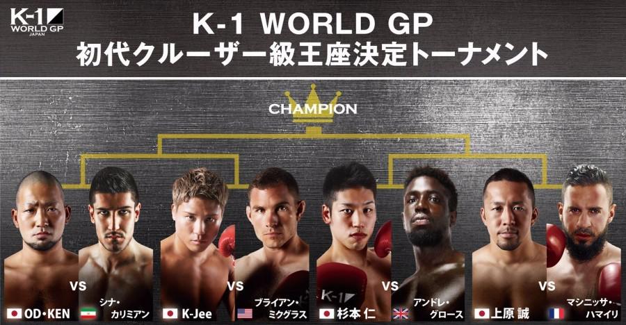 2018年9月24日K-1 WGP初代次重量级王者争霸赛 - 直播[视频]