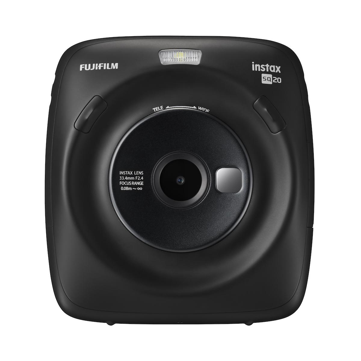 富士的 Instax Square SQ20 拍立得相机可以录制短视频
