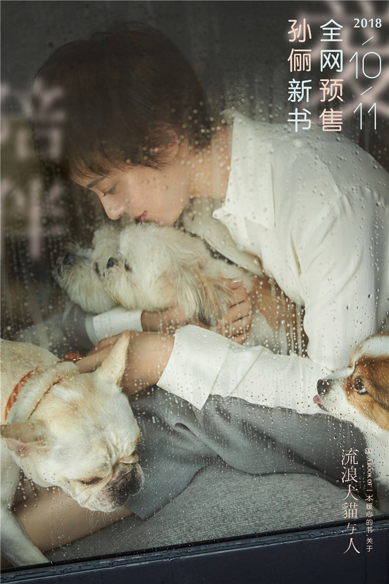孫儷新書聚焦流浪動物 預告海報曝暖心畫面