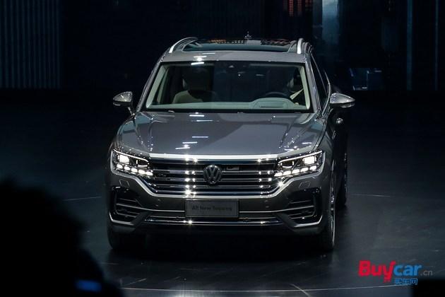 预计将推三款新车 全新途锐疑似售价区间68.88万-89.98万元