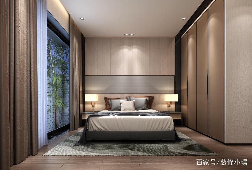 2018卧室造型顶效果图