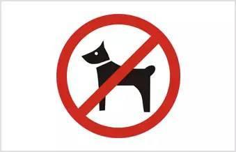 禁止携带宠物 Домашние животные не допуск