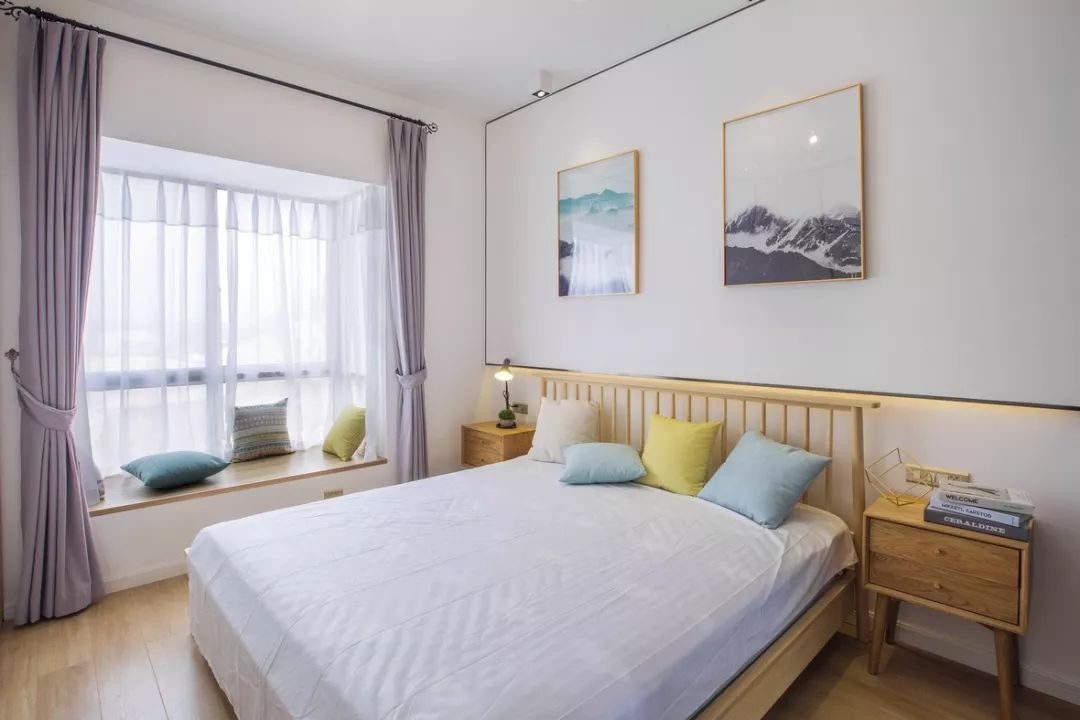 现代主卧室设计图片